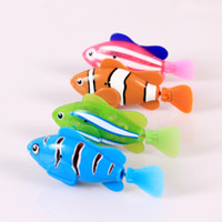 Wholesale Clownfish Nemo Robo Fish Robotic Fish Water Activated Boys Girls Toy Xmas Stocking