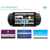 Wholesale JXD S5300 Game Console Player inch Android ARM Cortex A8 GMHz CPU GB Player