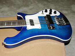 Custom Shop 4 Strings Bass Guitar 4003 Bass Guitar blue ELECTRIC BASS GUITAR Multiple color choices