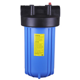 Wholesale Big Blue Water Filter Housing quot with Pressure Relief for Water Purifier