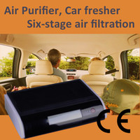 Wholesale Air purifier for car GL with ozone anion UV HEPA advanced car air filter technology