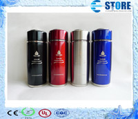 Wholesale Free Drop Shipping Stainless Steel alkaline water ionizer flask Nano energy cup with Filter