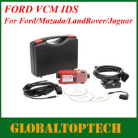 Car Diagnostic Cables and Connectors For Ford Ford VCM IDS DHL Free For 2013 Newest Ford VCM Metal Box Professional Ford VCM IDS V86 JLR V134 VCM IDS Ford Auto Diagnostic Tool With Multi-Language