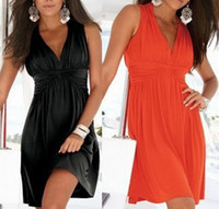 Wholesale Sexy Womens Girls Fashion Sundress Holiday Casual Summer Short Beach Dress Chic