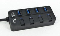 Wholesale Super Speed Gbps USB HUB USB Port Hub with LED Indication Switch On Off Switches Best price