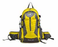 Wholesale Waterproof Sports Backpack Hiking Travel Camping Back Pack Bags Fashion Mountaineer Shoulder Rucksack School Backpacks C1319