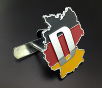 audi front grill - Excellent NEW german Country flag motorsports Metal badge for Audi for vw for Bmw Front grill Grille car Emblem badge sticker