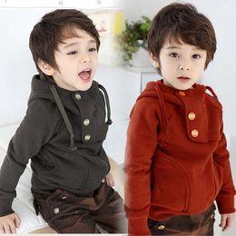 Wholesale Activewear Hoody Sweatshirt Child Clothing Children Hoodie Sweatshirts Long Sleeve Hooded Tops Boys Hoodie Kids Clothes Fashion Casual Coat
