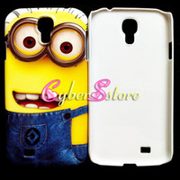 Wholesale New Despicable Me Minion Winnie the Pooh hard Case Cover for Samsung Galaxy IV S4 i9500