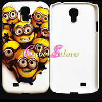 Wholesale Hot Selling Despicable Me Minion Winnie the Pooh hard Case Cover for Samsung Galaxy IV S4 i9500