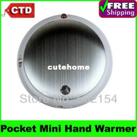 Wholesale High Quality With Cheap Price Travel Outdoor AA Battery Portable Digital Pocket Mini Hand Warmer In Stock
