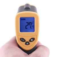 Senza contatto digitale a infrarossi IR Termometro con laser -50 ~ + 380'C cinico Termometro a cristalli liquidi H1779 1pcs