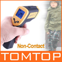 Wholesale Non Contact Digital Infrared IR Thermometer With Laser C Cinical Termometer LCD H1779