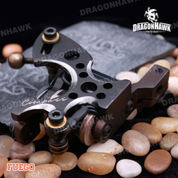 A+ Quality 10 Wraps Coils Tattoo Machines Tattoo Gun Steel Frame Copper Coils Compass Tattoo Machine Tattoo Supplies Tattoo Shader Machine