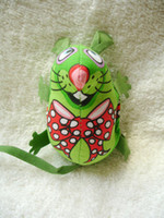 Wholesale Fatcat pet toy saidsgroupsdirector toy green small mouse