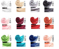 Wholesale Scarves Scarf Pashmina Cashmere Crochet Knitting Cotton Ladies Christmas Gift