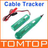 Wholesale Professional MASTECH Network Cable Tester Line Tracker Telephone Line Tester With Pouch H4496