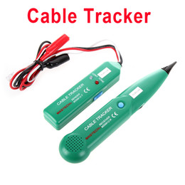 Wholesale MASTECH Network Cable Tester Line Tracker Telephone Line Tester With Pouch H4496