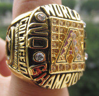 2001 Campeonato CUP Un Diamondbacks STANLEY tamaño Replica anillo 11 de Estados Unidos el mejor regalo para los fans de la colección de alta calidad