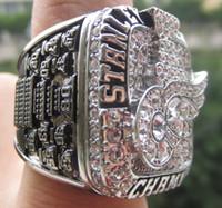 2008 Campeonato CUP DR Alas STANLEY tamaño Replica anillo 11 de Estados Unidos el mejor regalo para los fans de la colección de alta calidad