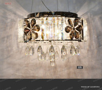 Gray best lighting for home office - LLFA1917 CRYSTAL LIGHT MODERN CRYSTAL CHANDELIER Size D45CM CAN CUSTOMIZE WITH BEST K9 CRYSTAL FOR HOME