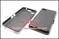 bb silicone case - Stereo square dual color tone PC TPU hard soft Case for Blackberry BB Z30 A10 skin cover cases