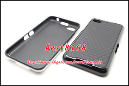 Wholesale Stereo square dual color tone PC TPU hard soft Case for Blackberry BB Z30 A10 skin cover cases
