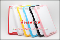 Wholesale Stereo square dual color tone PC TPU frame bumper hard soft Case for Blackberry BB Z30 A10 fashion colorful skin cover cases