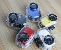 Wholesale 1080P Sports Helmet Action Waterproof Mini DV Dash Car Camera Cam M H Waterproof m