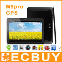 Wholesale M9pro PIPO M9 pro Quad core RK3188 Tablet PC Inch HFFS FHD Screen X1200 Android Jelly Bean Bluetooth GB RAM GB Quad core GPS