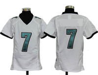 Football Boys Short White Children Game Jerseys Top Kits 7 Jersey Best Game Hot 2013 New Design American Football Eegle Team Uniforms on Sale
