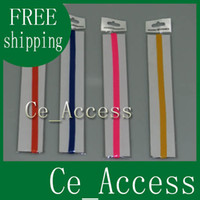 Wholesale Lycra solid color Stretch sports Headband Hair bands sweatband assorted colors