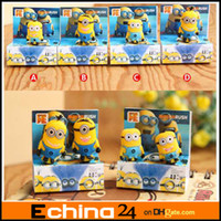 Earphone Jack Plugs   Despicable me Silicone Anti 3.5mm Dust Plug +Retail Package 3D Cartoon Mini Bean Capsule Earphone Jack Plug Dustproof Ear Caps Pluggy