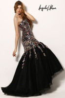 Reference Images sequence - 2013 Evening Dresses gorgeous mermaid gown a fitted lace up bodice sweetheart neckline beautiful colourful sequence throughout Prom Dress