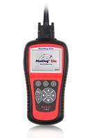 For BMW airbag - AUTEL MD802 escaner automotriz scanner system Diagnose abs airbag scanner autel engine code readers obd2 code reader MD MD by DHL