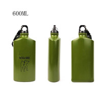 aluminum water bottle - Brand new ml Canteen Outdoor Sports Camping Cycling Hiking Aluminum Alloy Tactical Series Bottle