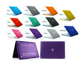 Matte Transparent Hard Case Cover 11 Colors + Free Silicone Keyboard Skin For Macbook Air Pro Retina 11 12 13 15