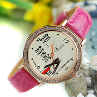 Analog   2013 personality rings women's Women decoration clock strap watch db843