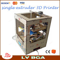 220V/110V Single Color 0.3 mm 220V 110V single extruder 3D printer,one sprayer with SD card control,LCD Screen