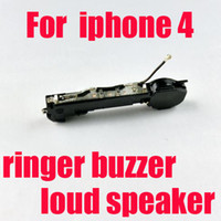 Wholesale DHL free Loud Speaker Buzzer Ringer Antenna Assembly With Housing Replacement Parts For iPhone GSM S