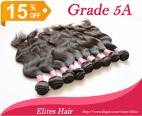 Wholesale Queen Hair A UNPROCESSED Brazilian Virgin BEST TOP Quality Hair Weave Body Wave Remy Elites Hairs Weft BH503