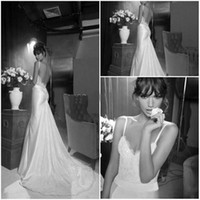 Wholesale Sexy sweetheart backless mermaid Inbal Dror wedding dress new Arrival Bridal gown