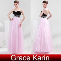 pink and black prom dresses - Sweetheart Chiffon Tulle Black and Pink Long Ruched Prom Dress Banquet and Parties Gown CL4415