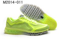 Cheap Wholesale Lime Max 2014 Running Shoes Store Mens Tennis Sneakers