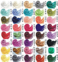 Wholesale Infinity Scarves for Women Winter Wool Pashmina Scarves Cashmere Faux Fur Scarves Knit Scarves Charm Warm Winter Scarf Christmas gifts