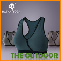 Wholesale HATHA Professional yoga clothes bra sports Yoga underwear wrapped chest colors