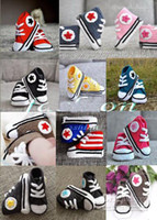 Wholesale Hot Sale New Cute Crochet shoes sandals toddler shoes Crochet baby sneakers pairs free shippinng