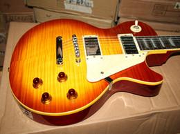 Custom shop 1959 Tiger Flame Electric guitar Custom Shop Electric Guitar VOS guitar from china Free Shipping