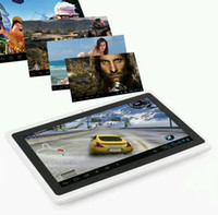 Wholesale Black White Q88 quot Android Tablet PC Allwinner A13 Capacitive Camera GB MB Tablet PC