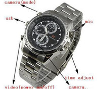 Wholesale mini spy watch cam with GB Metal Watch SC Mini Camera Waterproof Digital Camera Camcorder Video hidden watch cam spy cam from coolcity2012